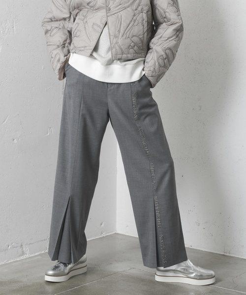 人気デザイナー BEEDS EMBROIDERY EMBROIDERY PT/ビーズエンブロイダリーパンツ(スラックス)|mintdesigns(ミントデザインズ)のファッション通販, ハビコロトイ:2de0b84f --- steuergraefe.de