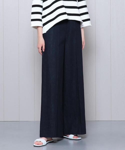 <muller of yoshiokubo>DENIM TUCK PANTS/パンツ