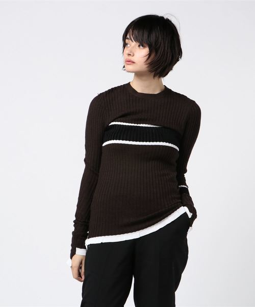超人気 【AKANE UTSUNOMIYA】ラインKN(ニット/セーター)|AKANE UTSUNOMIYA(アカネウツノミヤ)のファッション通販, 渡嘉敷村:2f65ce5f --- tsuburaya.azurewebsites.net