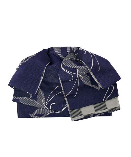 自然な形の作り帯 小袋帯 半幅帯 浴衣帯 リボンタイプ