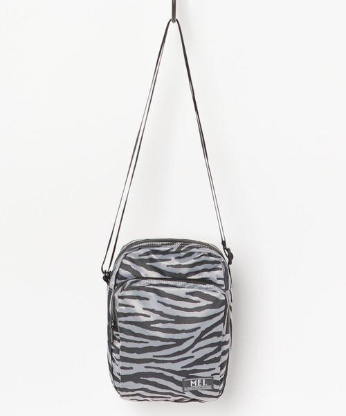 【 MEI  / メイ 】Zebra ONE SHOULDER ゼブラ柄 ショルダー ミニショルダーバッグ