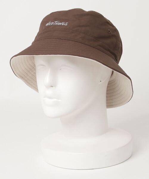 ∴【 WILD THINGS / ワイルドシングス 】REVERSIBLE BUCKET HAT リバーシブル バケットハット