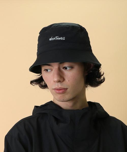 【 WILD THINGS / ワイルドシングス 】REVERSIBLE BUCKET HAT リバーシブル バケットハット