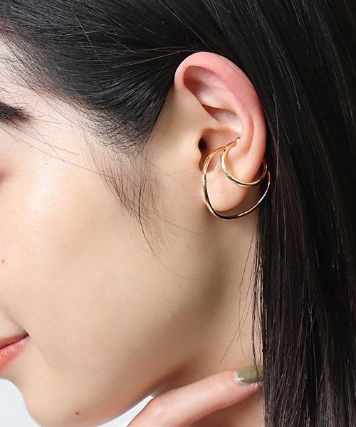 【 三丁目六番地Tokyo 】 両耳 イヤカフ MT 012 AMT