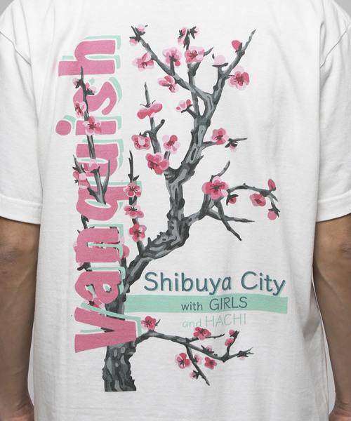 SAKURA Shibuya City クルーネックTシャツ
