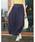 Re:EDIT(リエディ)の「リラックスマキシスカート風ロングパンツ(パンツ)」|ネイビー