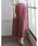 Re:EDIT(リエディ)の「リラックスマキシスカート風ロングパンツ(パンツ)」|ピンク