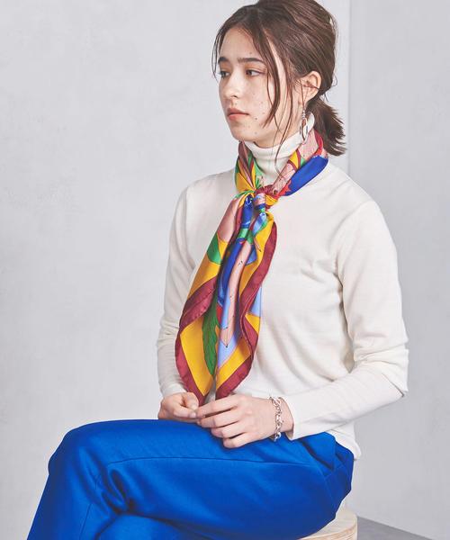 <manipuri(マニプリ)>スカーフ L 18FW