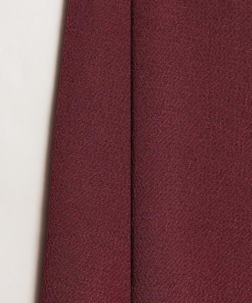 KIMONO MODERN(キモノモダン)の「正絹帯揚げ-梅染(和装小物)」|レッドパープル