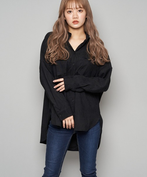 コーデュロイオーバーシャツジャケット