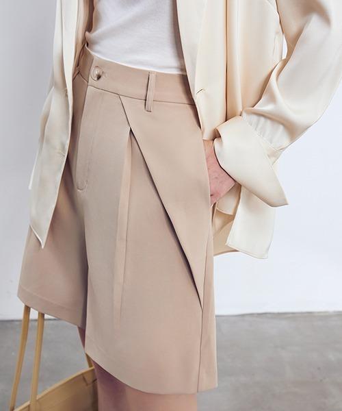 【chuclla】【2021/SS】High waist half pants sb-4 chw1438