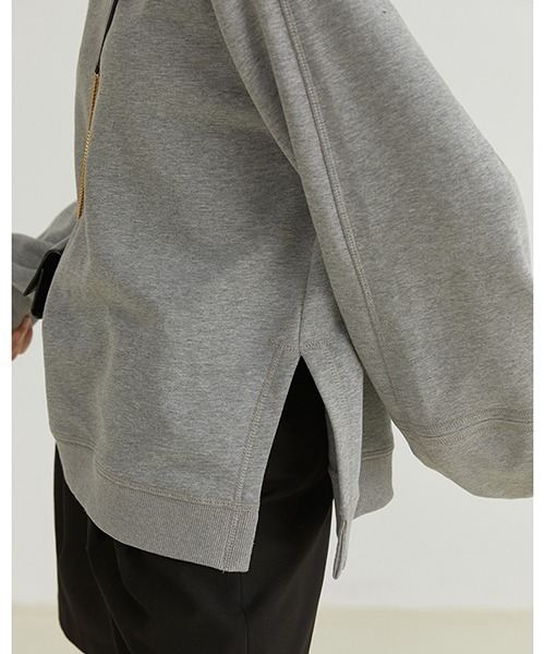 【Fano Studios】【2021AW】Side slit sweater FQ21S005