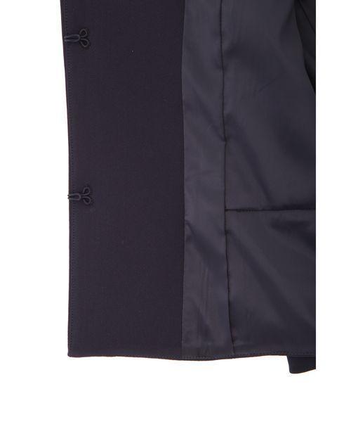 ◆プルエラサキソニーペプラムジャケット