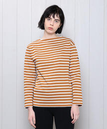 <SAINT JAMES>OUESSANT BORDER PULLOVER 19SS/カットソー