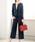 GeeRA(ジーラ)の「360度ラクに伸びる!5種の機能付パンツスーツ(セットアップ)」|ネイビー