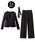 GeeRA(ジーラ)の「360度ラクに伸びる!5種の機能付パンツスーツ(セットアップ)」|詳細画像