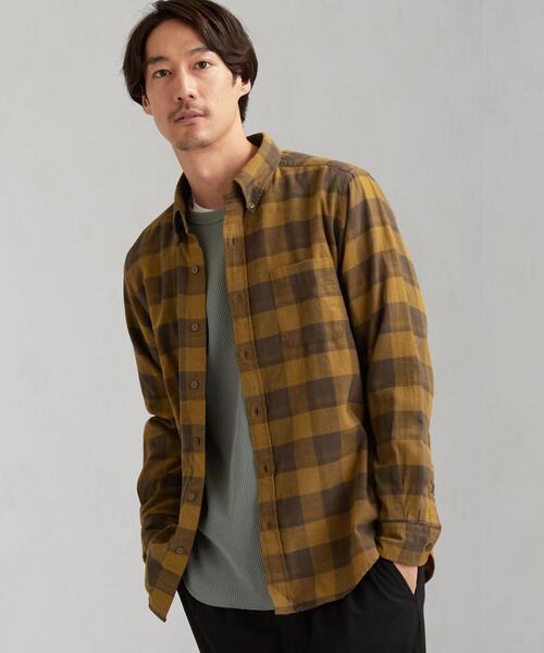 SC カノコドビー チェック ボタンダウンシャツ LS
