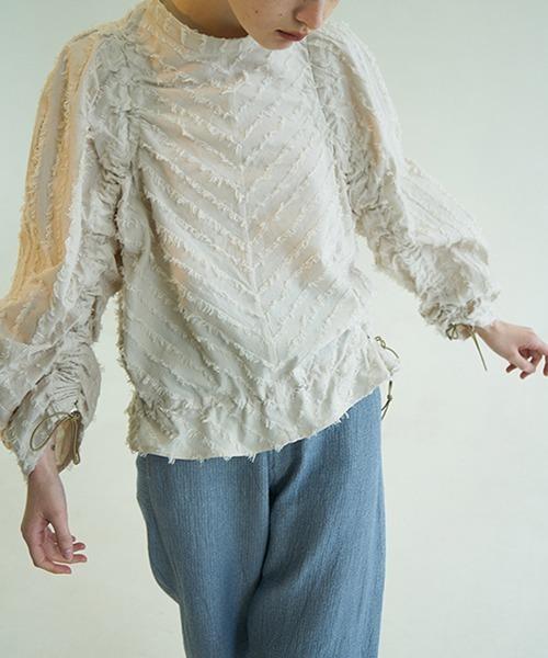 【chuclla】【2021/SS】Fringe shaggy pullover chw1439