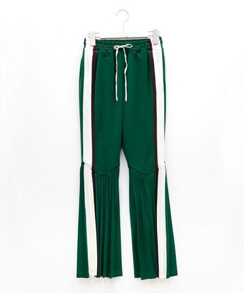 早い者勝ち PLEATED JERSEY JERSEY TRACK TRACK PANTS(パンツ)|FACETASM(ファセッタズム)のファッション通販, ジンセキコウゲンチョウ:d337df5b --- pyme.pe