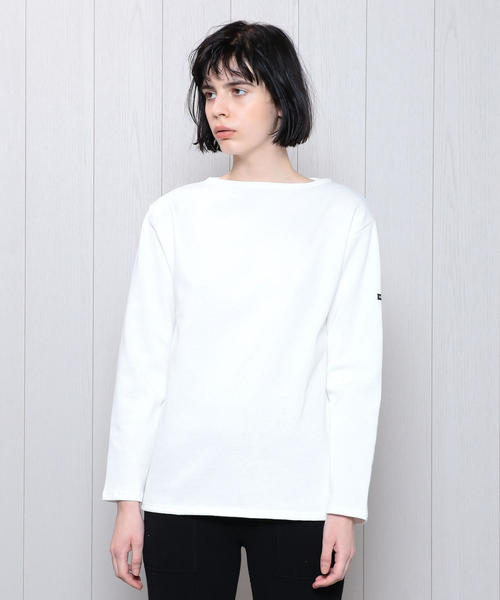 <SAINT JAMES>OUESSANT SOLID PULLOVER 19SS/カットソー