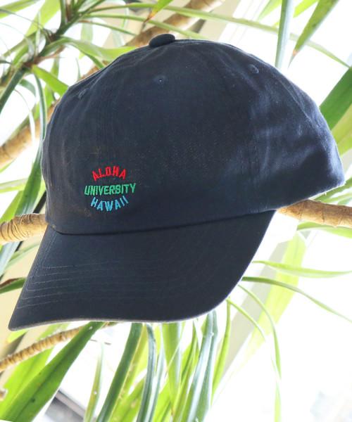 【HALEIWA HAPPY MARKET/ハレイワハッピーマーケット】アロハユニバーシティキャップ