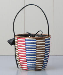 <Cesta Collective>CHECK BASKET BAG/バッグ