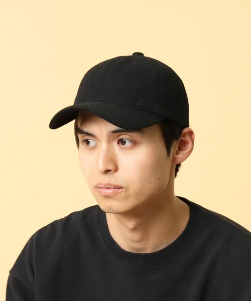 ∴【 JABURO / ジャブロー 】6PANEL MELTON CAP 6パネル メルトンキャップ