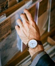 Furbo design(フルボデザイン)の【Furbo design】 フルボデザイン F761 ソーラーチャージ クロノグラフ 腕時計(腕時計)