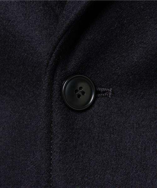 martiniqueGENT'S/CALMEメルトンテーラードジャケット