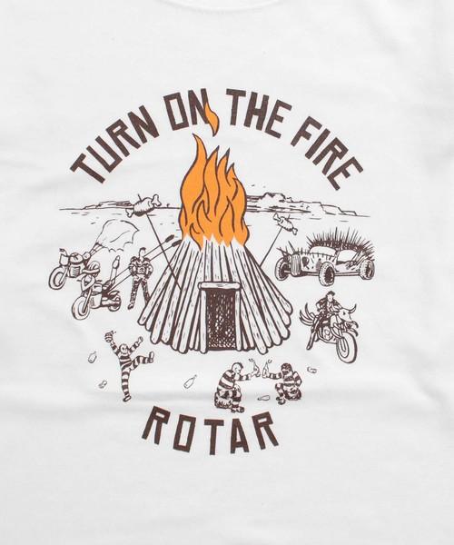 TURN ON THE FIRE LS Tee ロンT
