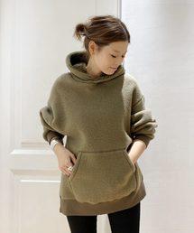 Deuxieme Classe(ドゥーズィエムクラス)のmilitary pile hoodie(パーカー)