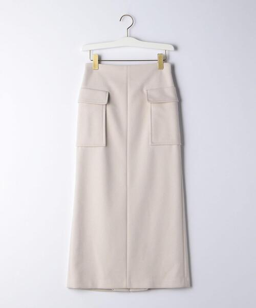 【EMMEL REFINES】EM ジャージロング タイトスカート