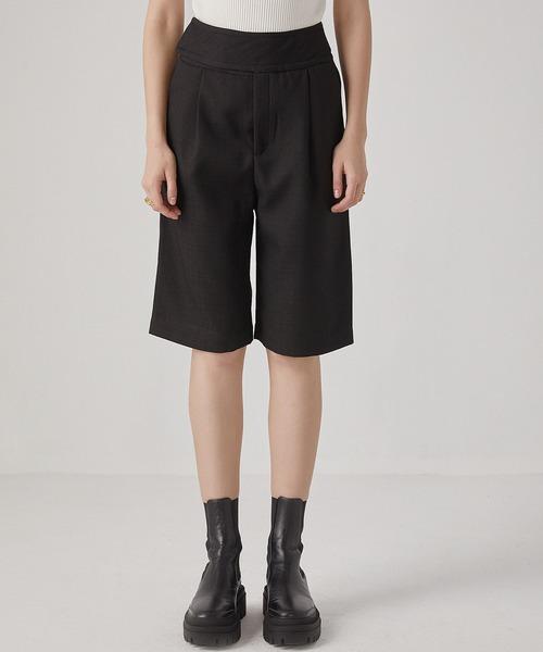【chuclla】【2021/SS】Waist-design bermuda pants sb-4 chw1441