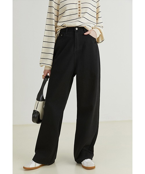 【Fano Studios】【2021AW】Straight loose jeans FQ21K008
