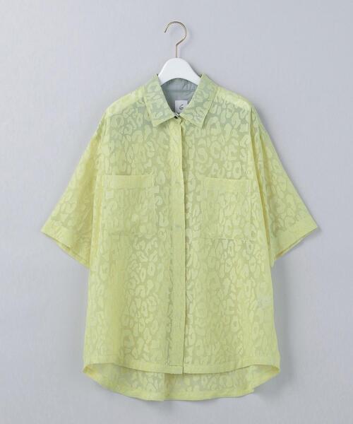 <6(ROKU)>OPAL SHORT SLEEVE SHIRT/シャツ