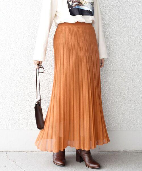SHIPS(シップス)の「プリーツスカート◇(スカート)」|詳細画像
