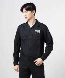 MESSER CHUPS/NIGHTMARE刺繍 スーベニアシャツブラック
