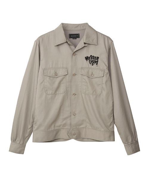 MESSER CHUPS/NIGHTMARE刺繍 スーベニアシャツ