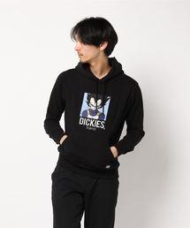 [ DRAGON BALL Z ] ベジータ刺繍裏起毛プルオーバーパーカー(パーカー)