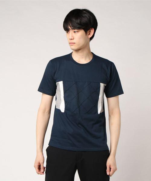 切替デザインTシャツ
