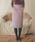 EDIT COLOGNE(エディットコロン)の「《EDIT COLOGNE》ポケットフェイクファーミディースカート(スカート)」|詳細画像