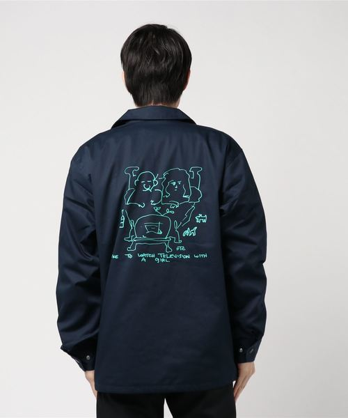 FTC(エフティーシー)の「WITH A GIRL COACH JACKET(ナイロンジャケット)」|詳細画像