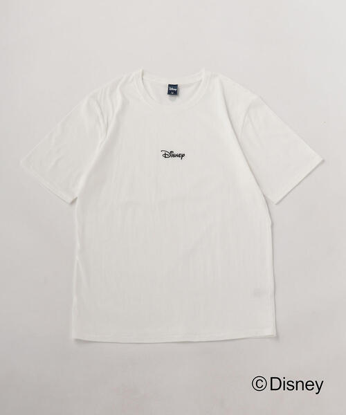 <A DAY IN THE LIFE>別注 DISNEY ロゴTシャツ