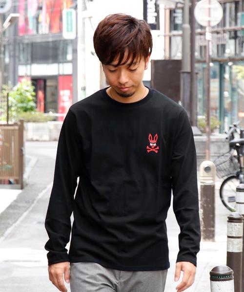 Psycho Bunny(サイコバニー)の「mischief bunny 長袖Tシャツ(Tシャツ/カットソー)」 詳細画像