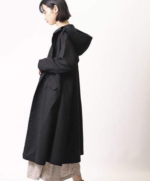 【Allumer/アリュメール】Long Hood Coat 8170303