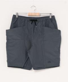 ガーデンポケットショーツ ナイロンショーツ 大容量のサイドポケット