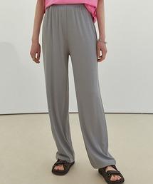 【Fano Studios】【2021SS】Straight silhouette rib jersey pants FC21K047グレー