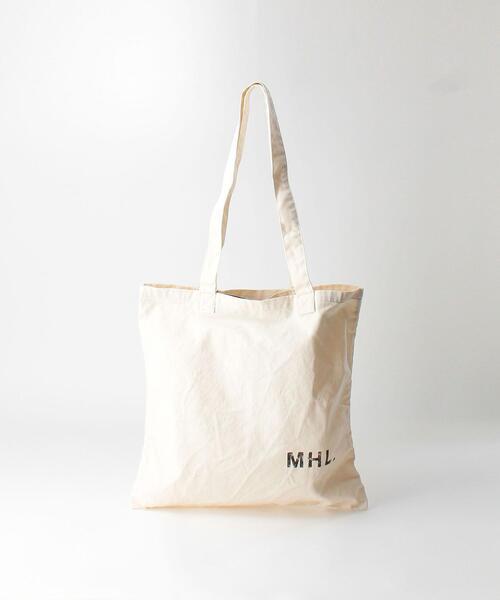 <MHL.> LOGO BAG/トートバッグ