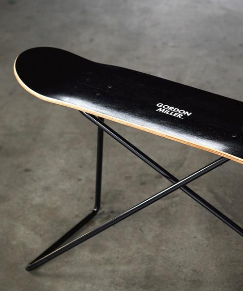JACK & MARIE(ジャックアンドマリー)の「スケートボード チェア(家具)」 ブラック系その他
