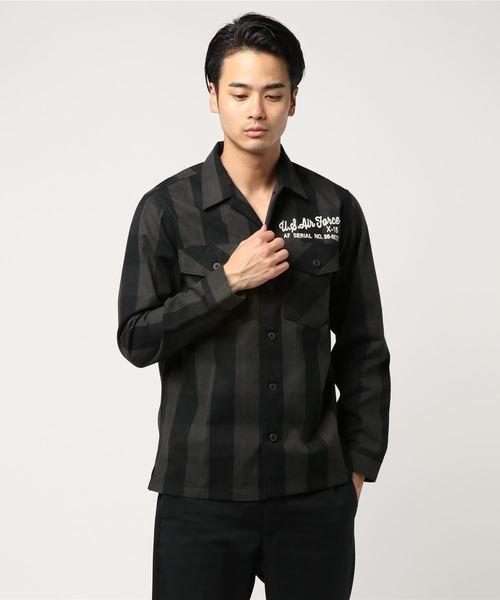 新しいブランド 【セール】AVIREX/アヴィレックス/ 長袖 SHIRT 刺繍チェックシャツ リトルジョー LITTLE/ L CHECK/S EMBROIDERY CHECK SHIRT LITTLE JOE(シャツ/ブラウス)|AVIREX(アヴィレックス)のファッション通販, 安曇村:f10a2382 --- blog.buypower.ng